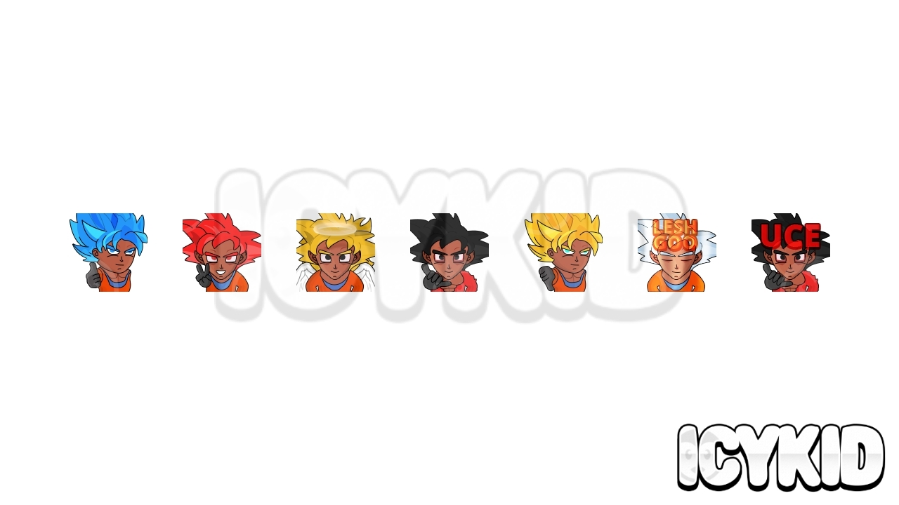 Dragon Ball Emotes 2